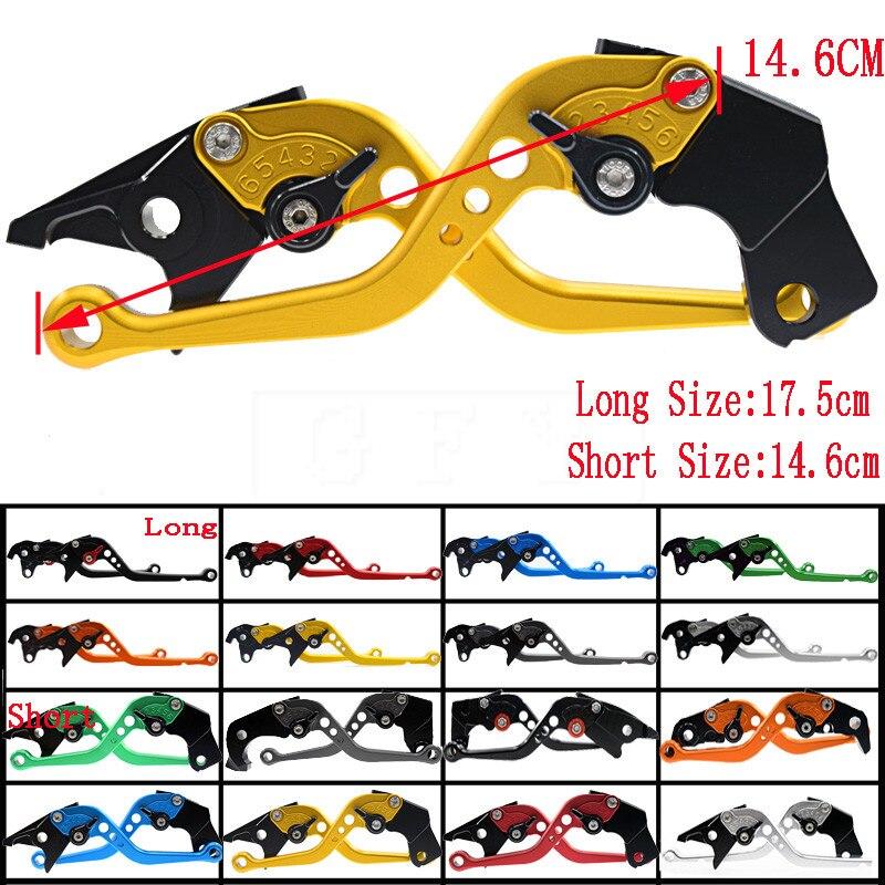 1 pares de la motocicleta CNC ajustable palancas de embrague de freno para Ducati 900SS/1000SS 1998, 1999, 2000, 2001, 2002, 2003, 2004, 2005, 2006