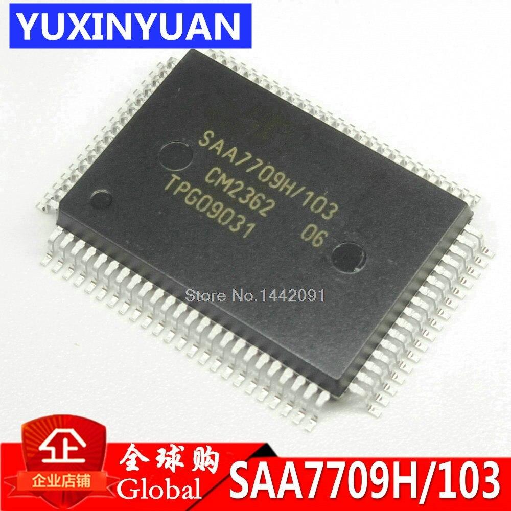 ¡2 uds SAA7709 SAA7709H SAA7709H/103 QFP-80 nueva y original IC en stock!