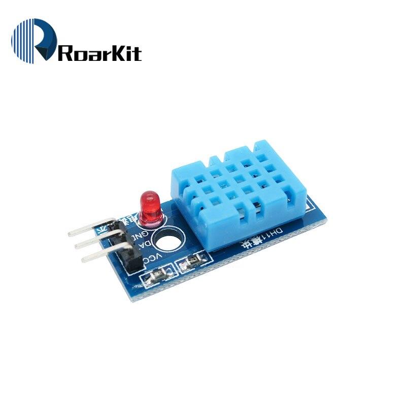 Nuevo Sensor de humedad DHT11, módulo de temperatura y humedad para Arduino