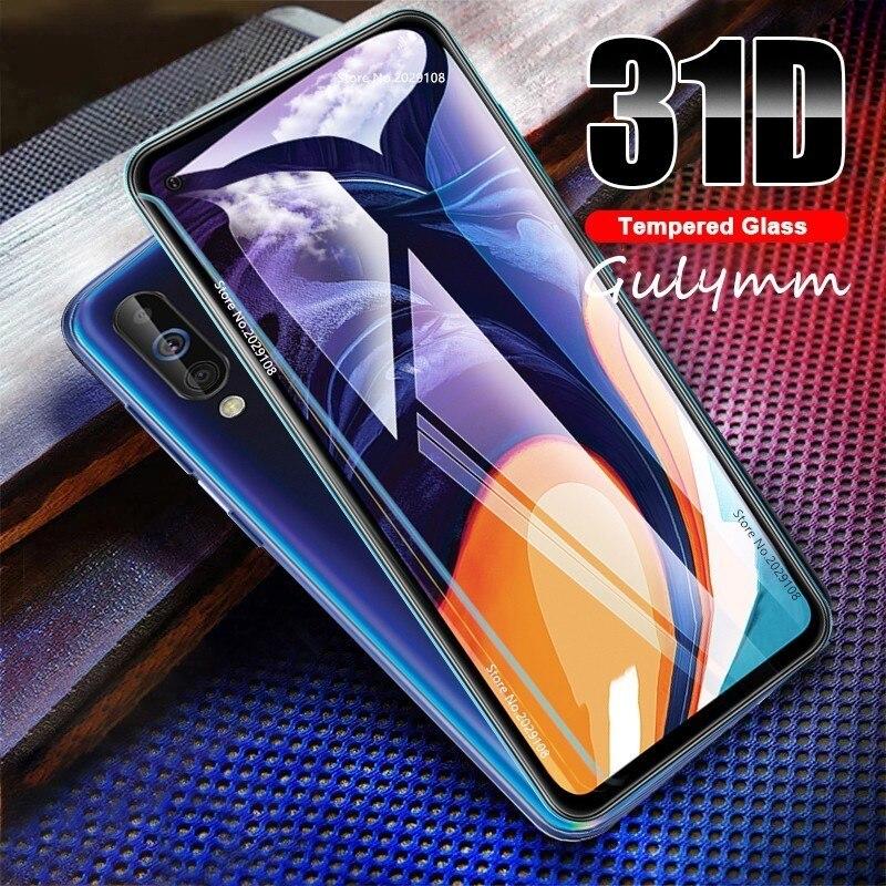 Nuevo Protector de pantalla de cristal templado 31D para Samsung Galaxy A 10 20 30 40 50 60 70 HD para película A750 J 3 5 7 2 4 Core