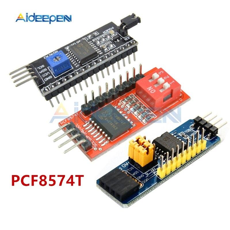 PCF8574 PCF8574T e/O módulo extendido compatible con interfaz IIC/I2C, tablero de expansión de nivel alto y bajo para Arduino DIY