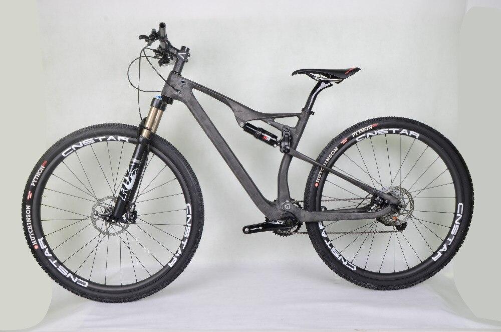 new coming! dengfu 2018 newest EPS M06 29er mtb bike UD matt/glossy BB92 29er full suspension mtb frame XC hot selling 142mm