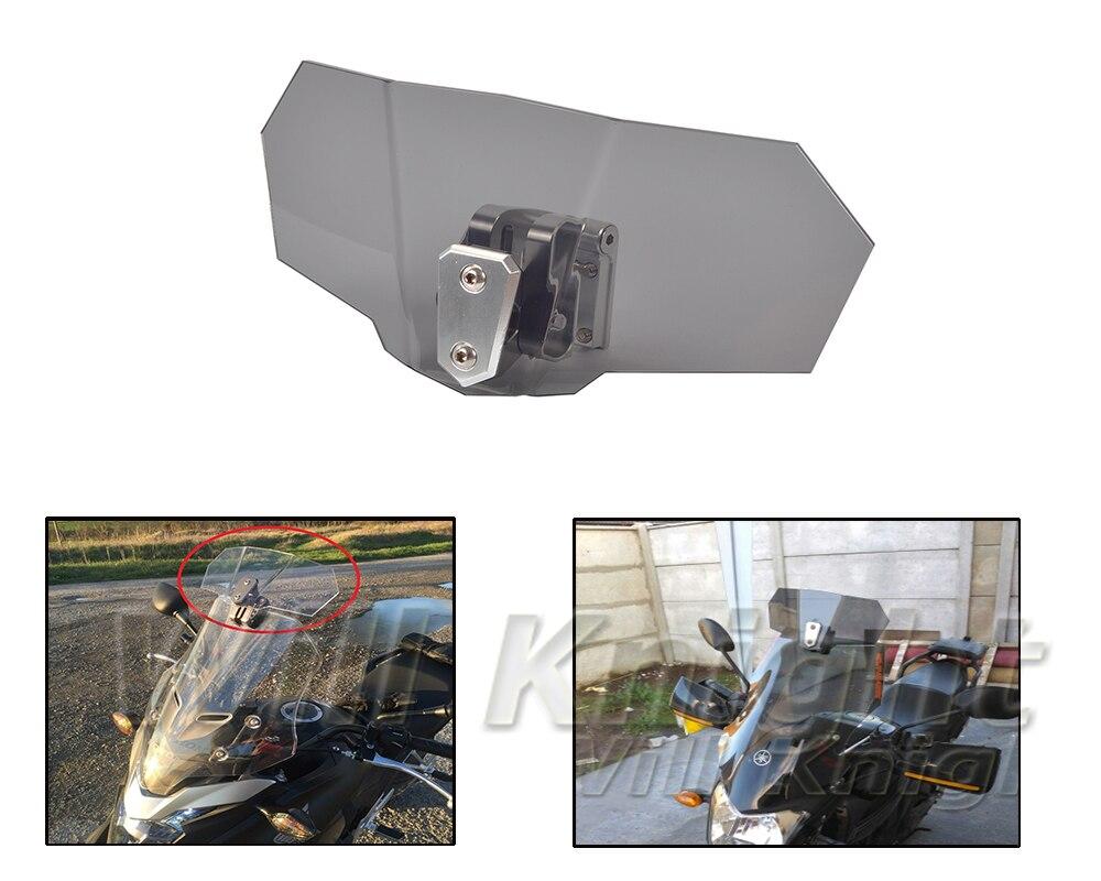 Risen Windschutz Windschutz Halterung Set Screen Protector Abschließbar für BMW F700/ F800/ F650 GS/S/ ST/ K1200S / R 1200GS Universal