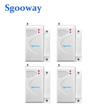 Sgooway-capteur de porte sans fil   433mhz, détecteur magnétique de porte, alarme de porte, contact de porte de sécurité