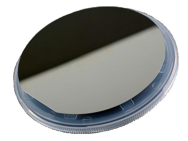 4 polegada single-sided lustrado wafer de silício monocristalino/resistividade 1-10 Ohm por centímetro/espessura de 200um