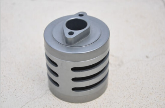 Filtro de aire de aluminio de titanio Aloy con esponja para RC escala 15 HPI Baja KM
