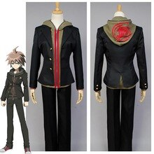 Anime danganronpa makoto naegi cosplay traje conjunto completo halloween carnaval traje para adultos