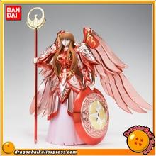 "Japan Anime ""Saint Seiya"" Original BANDAI Tamashii Nations Saint Cloth Myth Action Figure - Goddess Athena 15th Anniversary Ver."