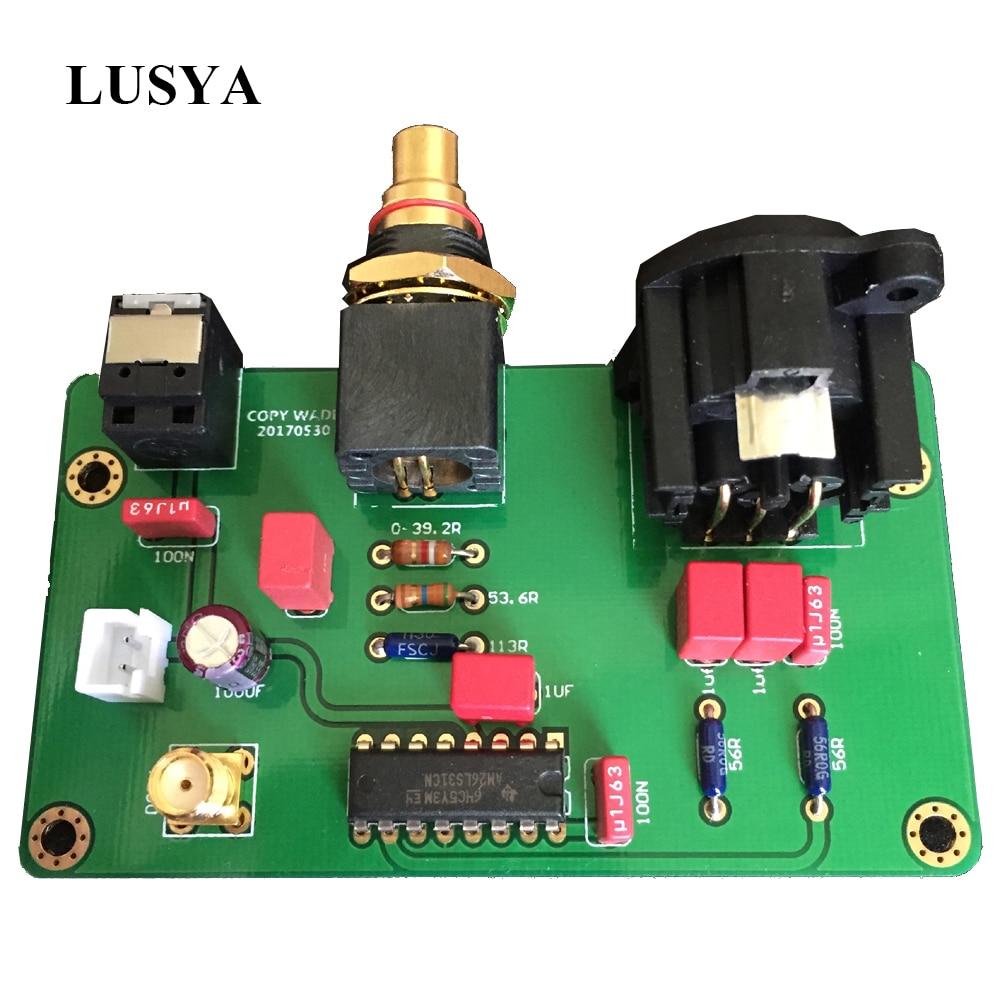 Lusya 26LS31 WADIA Digital Output Board Coaxial Buffer Board T0693