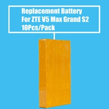 Nueva llegada 10 unids/pack 3000 mah batería de reemplazo para ZTE V5 Max N958st S2004 S291 gran SII S2 teléfono móvil de alta calidad