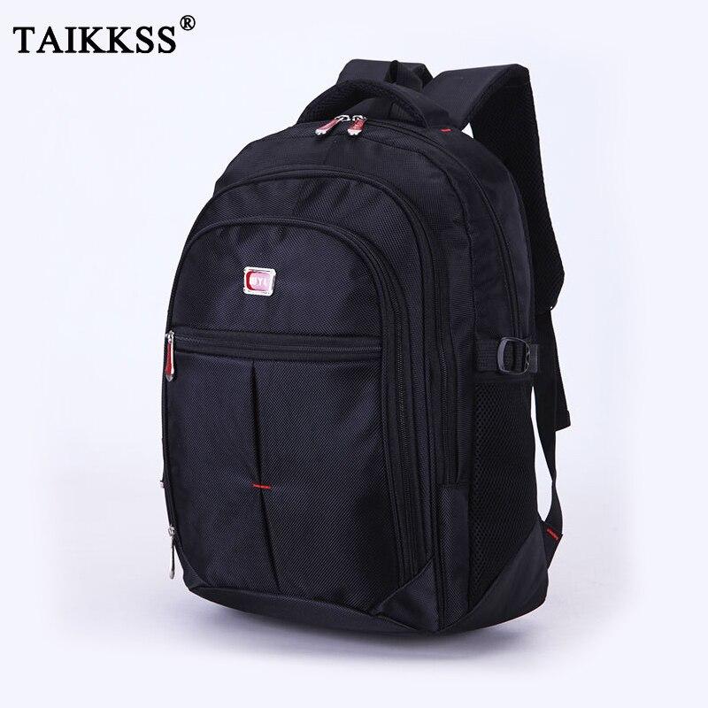 Трендовый стильный мужской водонепроницаемый вместительный рюкзак для ноутбука, нейлоновый дорожный рюкзак для колледжа, повседневные му...