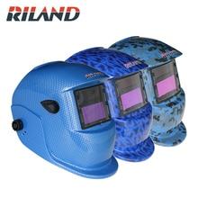 RILADN solaire Pro Auto assombrissement casque de soudage Arc Tig Mig protéger meulage soudeur masque X701D soudage/meulage casque masque capuche