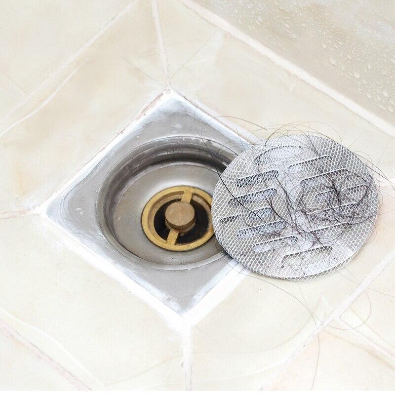 100 шт., кухонная ванная комната, предотвращение волос, раковина для душа, Сливная крышка, сетчатый фильтр, Аксессуары для инструментов