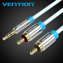 Vention RCA Cable 3.5 to 2rca audio cable rca 3.5mm Jack For phone Edifer Home Theater DVD 2RCA aux