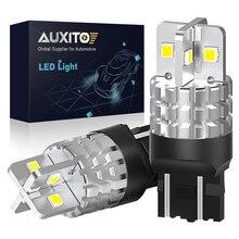 2 uds T20 LED CANBUS 7443 7440 W21W W21/5W SRCK 3030SMD Auto marcha atrás LED de luz DRL luz de indicación de giro de coche bombilla 6000K blanco