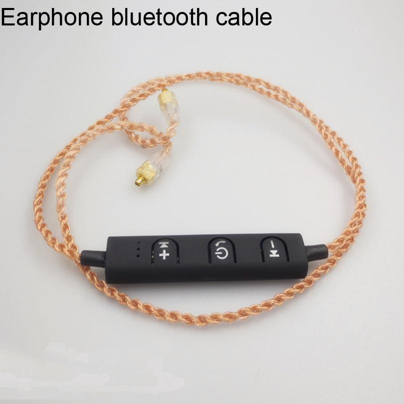 Izk BT IE80 mmcx intercambio inalámbrico Bluetooth 4,1 cable de actualización de auriculares para shure se215 se535 se846 auricular a bluetooth fun
