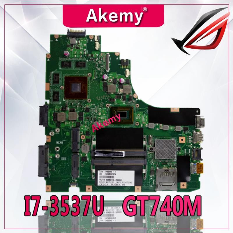Akemy K46CB/K46CM материнская плата для ноутбука ASUS K46CB K46CM K46C K46 тест оригинальная материнская плата I7-3537U GT740M