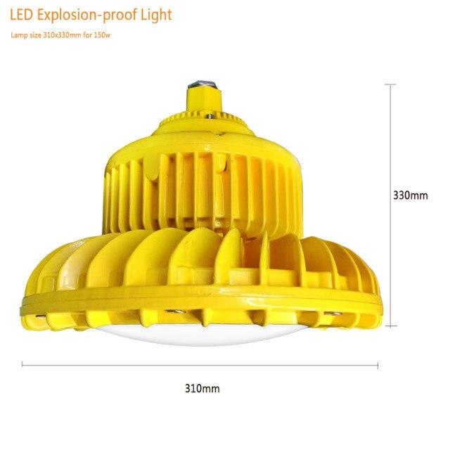 Luz led para techo alto a prueba de explosiones 50w, 60w, 70w