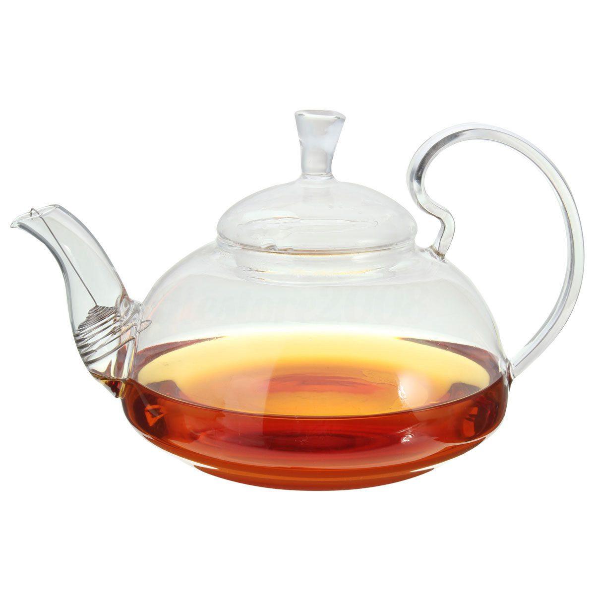 Высококачественный термостойкий стеклянный чайник чайный набор кунг фу ПУ 800 мл