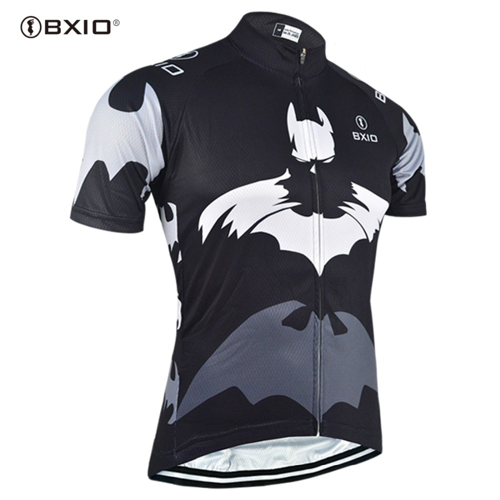 Página principal hombre Jersey de ciclismo bicicleta de montaña de ropa de ciclismo bicicleta shorts de manga Tee negro camiseta de ciclismo/chaqueta 111-J