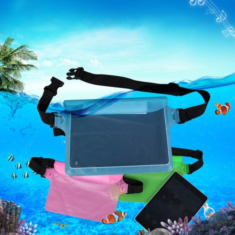 Bolsa deportiva, riñonera para natación a la deriva, riñonera de buceo, bolsa del teléfono móvil con sellado submarino, bolsillo