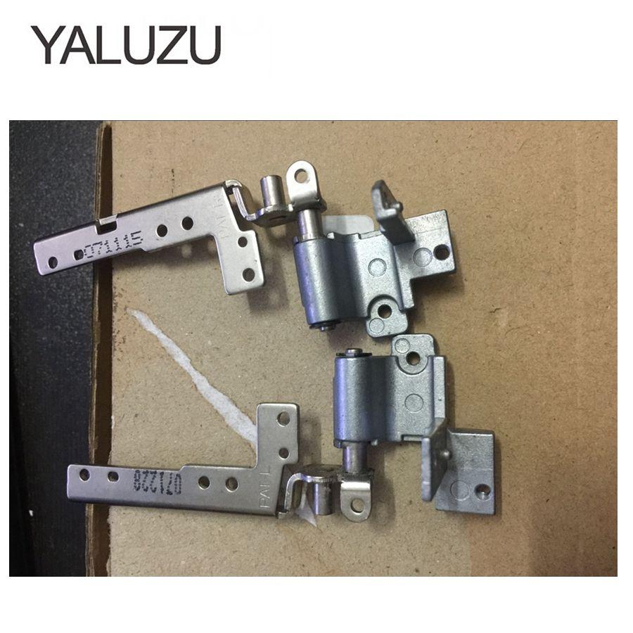 YALUZU петли для ЖК-экрана Sony vaio VGN AR VGN-AR AR68 AR32 AR320E серии левая и правая 17-дюймовые петли для ЖК-экрана ноутбука L + R