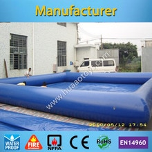 Piscine gonflable de piscine à balles gonflable adulte gonflable de qualité commerciale 5x5m (pompe à air gratuite + livraison gratuite)