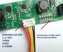 CA-266S nouveau universel 32-65 pouces LED LCD TV rétro-éclairage courant constant carte pilote 80-480mA sortie