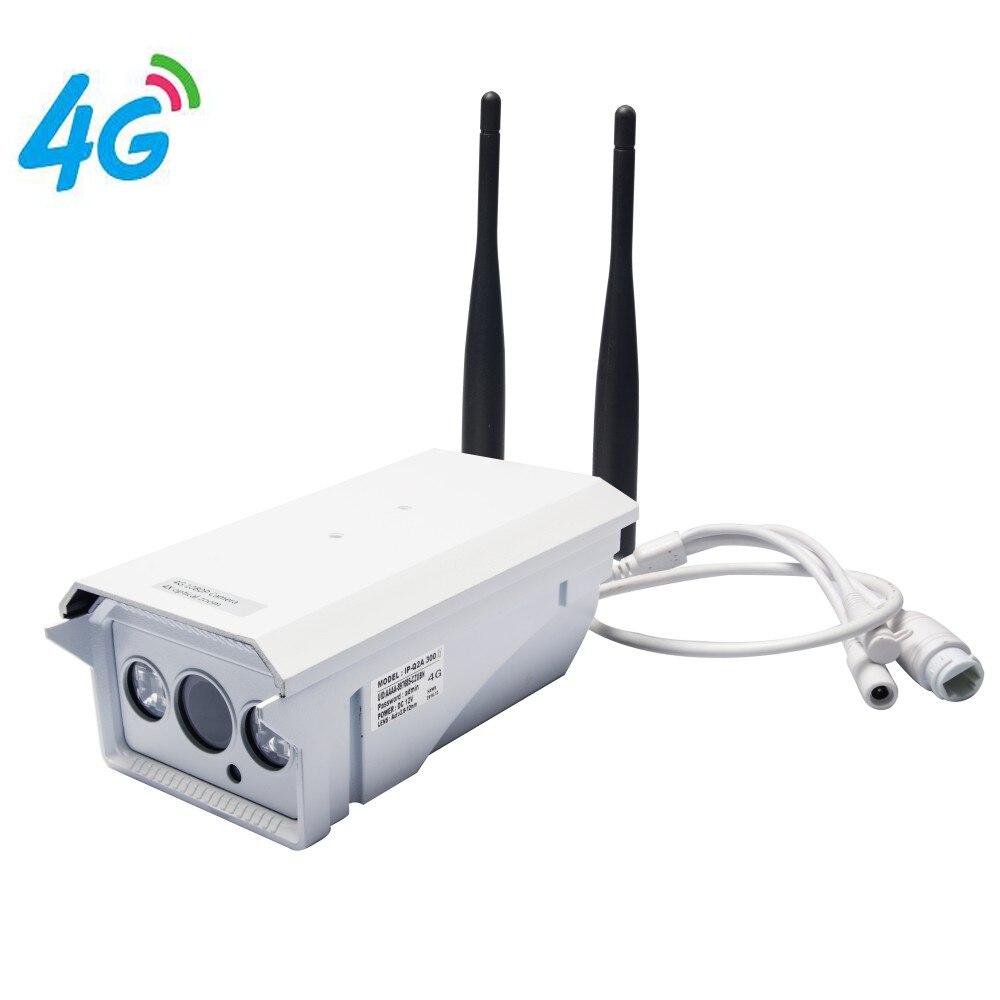 Cámara IP 4G Mobile Bullet 960P HD con 4G Red FDD LTE en todo el mundo y aplicación gratuita para Zoom óptico remoto y 4X y resistente al agua IP66