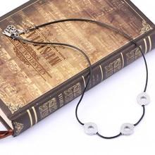 Anime Uchiha Itachi Necklace Titanium Steel Cosplay 3 Loops Necklace Women Choker Kolye Gift Ethnic