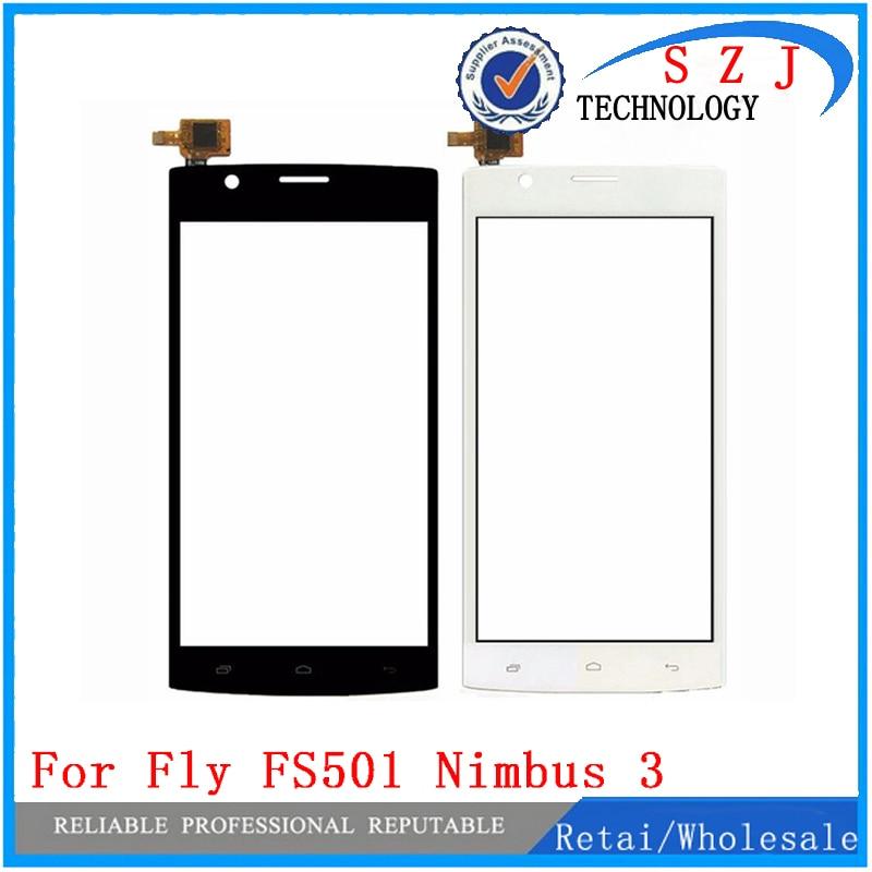 Nueva pantalla táctil de 5 pulgadas para Fly FS501 Nimbus 3 FS 501 Sensor de pantalla táctil digitalizador de cristal frontal de repuesto envío Gratis