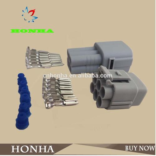 100 pçs/lote 6180-6771 6187-6561 mt090 auto sensor automotivo impermeável fio conector plug