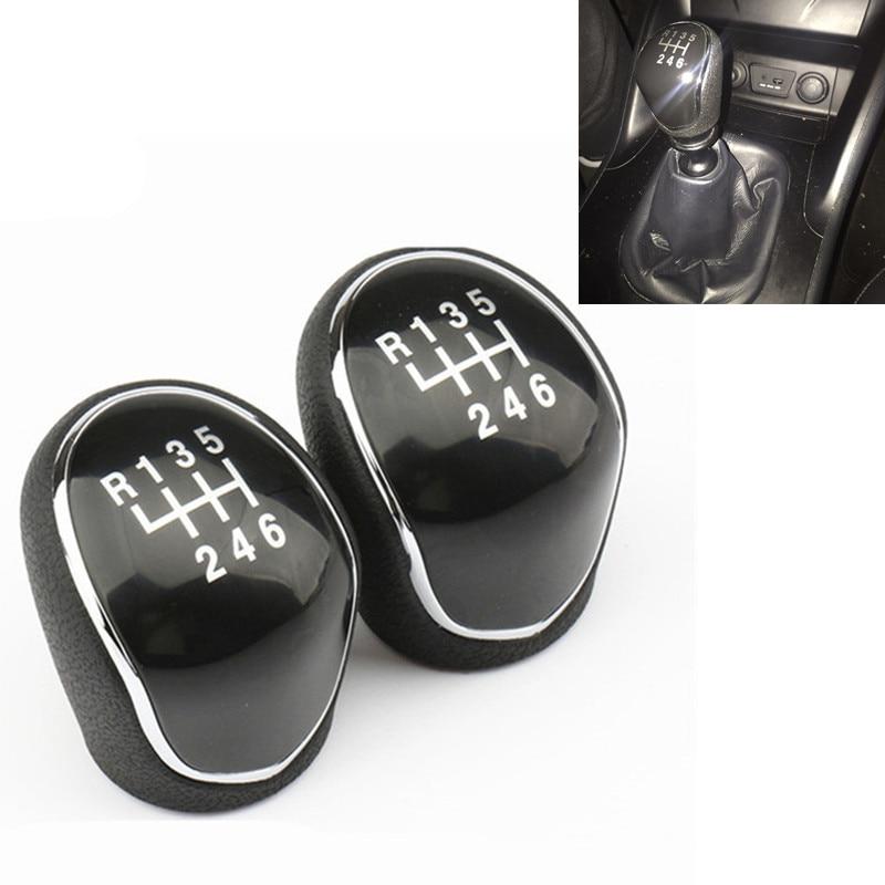 Del nuevo Manual de 6 velocidades con perilla de palanca de cambios cabezal de palanca de cambios de balonmano para Hyundai IX35 2012, 2013, 2014, 2015, 2016
