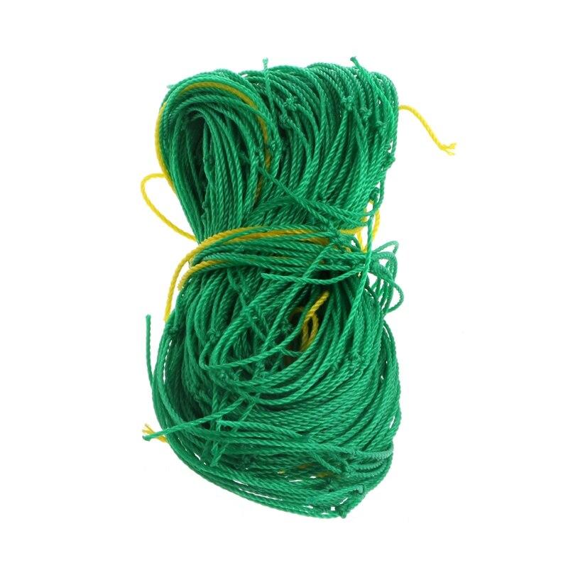Red Verde de nailon para jardín soporte de red redes para plantas trepadoras de judías crecer cerca