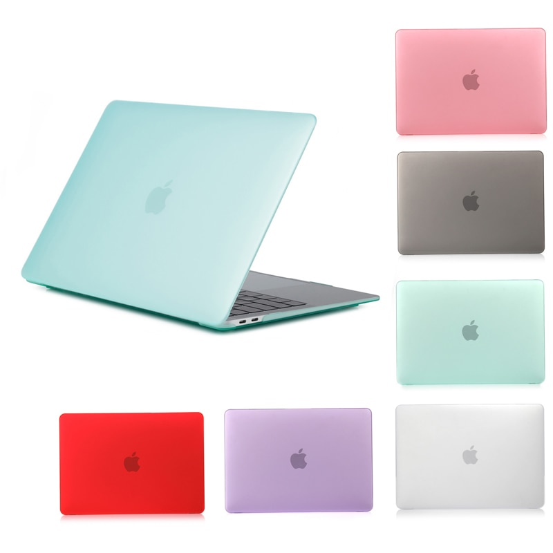 Matte Laptop Sleeve Cover Case For Macbook Air 13 case Funda case For macbook Pro 13