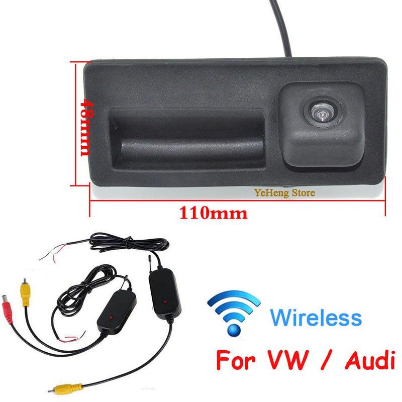 YeHeng store WIRELESS CAR REAR VIEW BACKUP CAMERA FOR VW PASSAT LAVIDA SHARAN GOLF HD CCD Wide Angle Camera,Free Shipping
