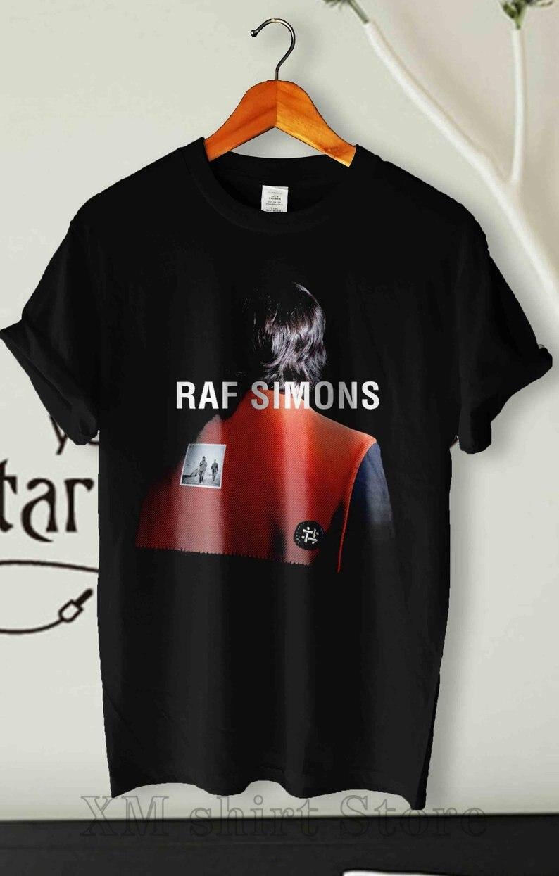 Camiseta de Simons de la Raf, camiseta Vintage de Simons para mujeres y hombres, ropa de calle para hombres, camiseta de calidad superior estampada, 100% de algodón