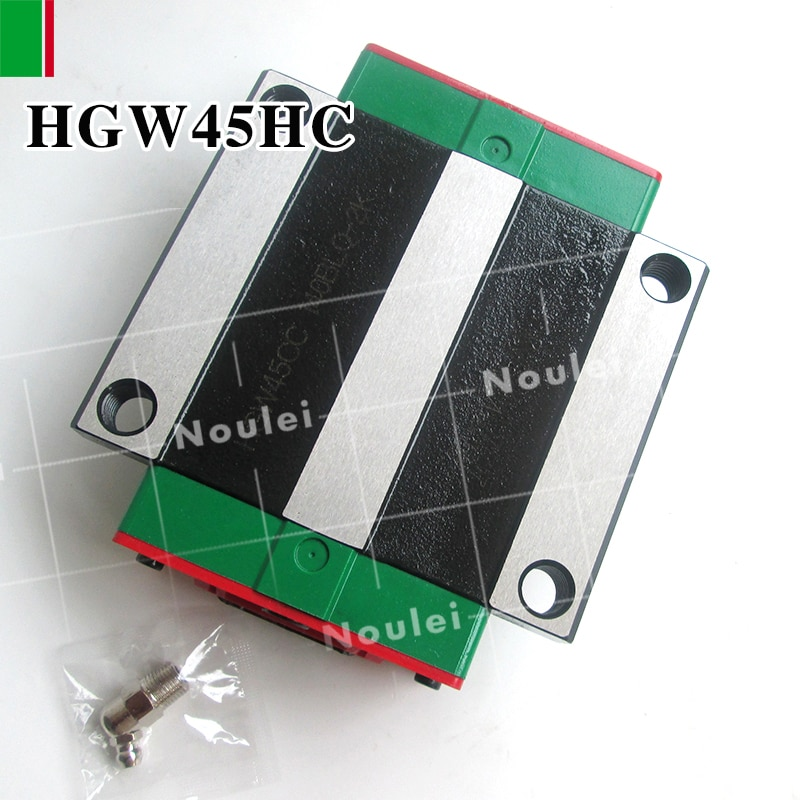 HIWIN HGW45HC HGW45HA slider for HGR45 linear guide rail High efficiency CNC parts HGW45