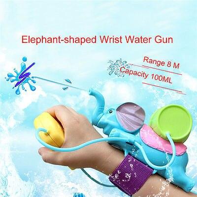Dropshipping 2017 nueva lindo potente pistola Super soaker elefante pistolas de agua mochila juguete de regalo