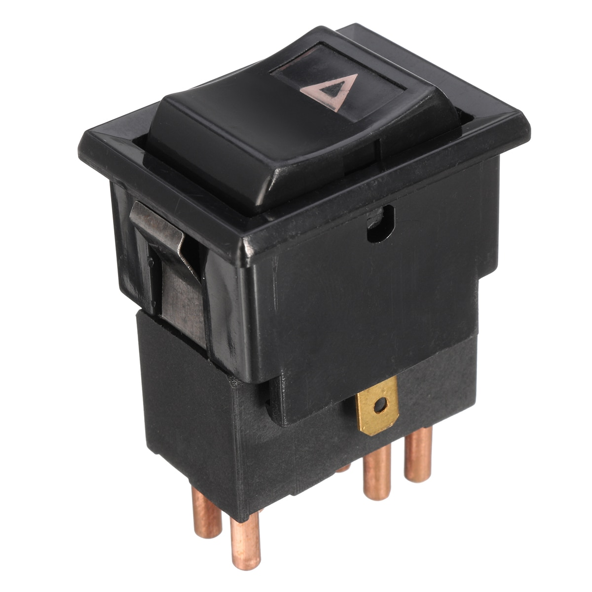 7 Pins Black Hazard Warning Lamp Switch For Land Rover Defender 90 110 130 YUF101490