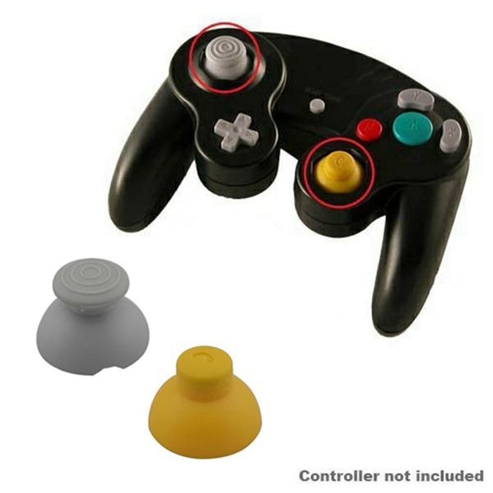 1 Uds., derecha + 1 Uds., palanca de mando analógica izquierda, tapa de joystick para control NGC