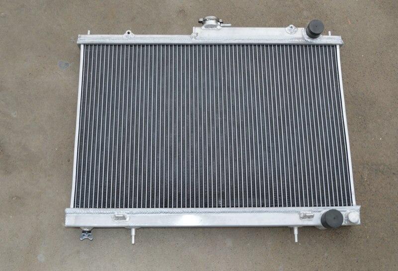 52MM para Nissan Skyline R33 R34 GTR GTS-T RB25DET Manual nuevo radiador universal de aluminio