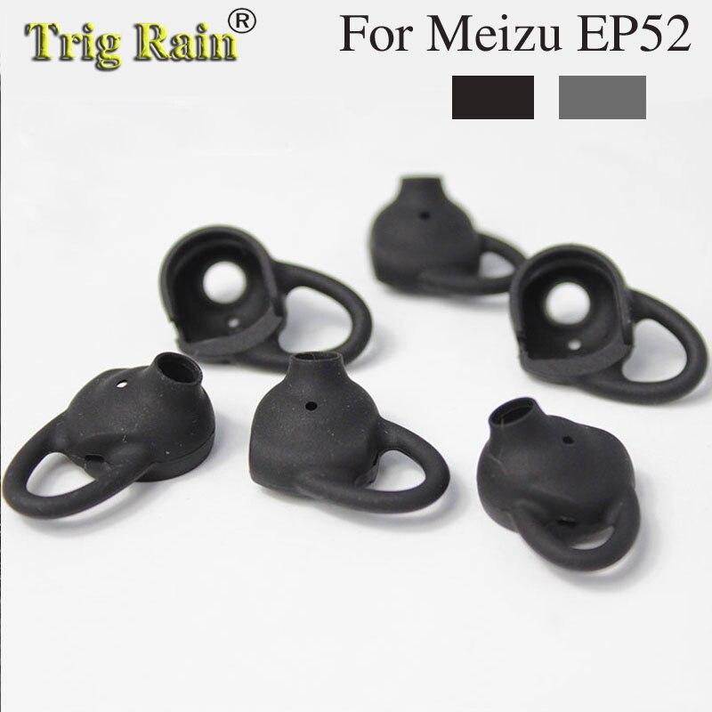 6 uds/3 pares de auriculares, funda de silicona para meizu EP52, auriculares Bluetooth, almohadillas para los oídos, tapones para los oídos, almohadillas de repuesto para los auriculares