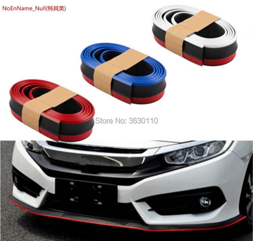 Deflector de labios de parachoques Lippen ajuste para Volkswagen VW Gol puntero Parati Saveiro travage G2 G3 G4 G5 Spoiler Rok/Kit de carrocería/Tira