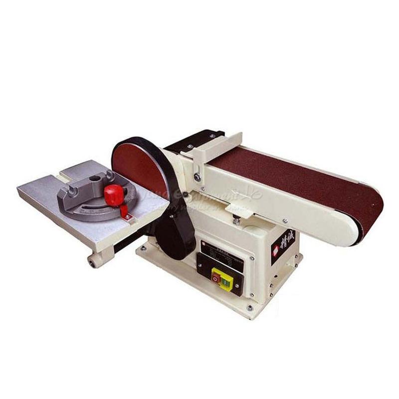Vertical type abrasive belt machine polishing grinding small bench 915 sand belt