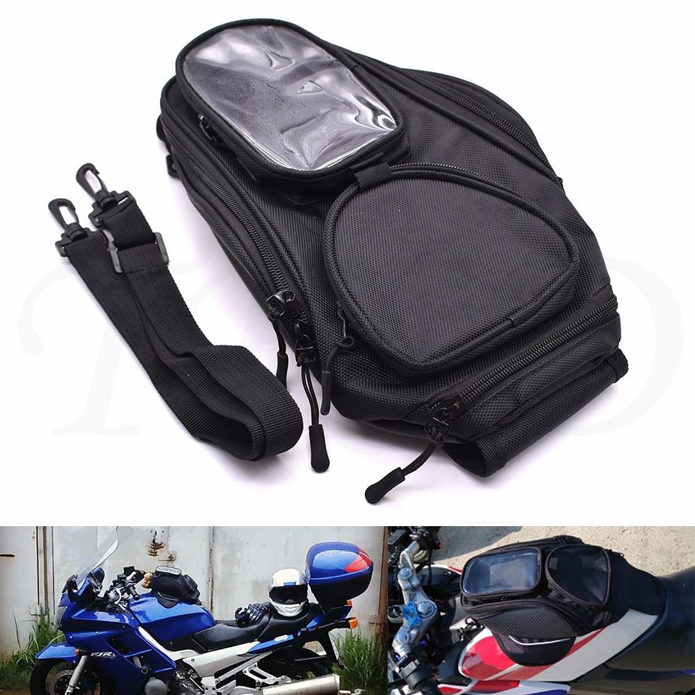 Nuevo impermeable bolsa de depósito de combustible para la motocicleta magnético mochila móvil navegación Teléfono para Yamaha XV1100 XV1000 XV 950 XTZ750 XTZ660