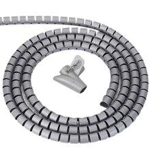 Protecteur de cordon enroulé   Clips de fil, Clips de câbles, manchon de câble, protecteur de tuyau, gestion de fil en spirale Flexible, collecte de tuyaux