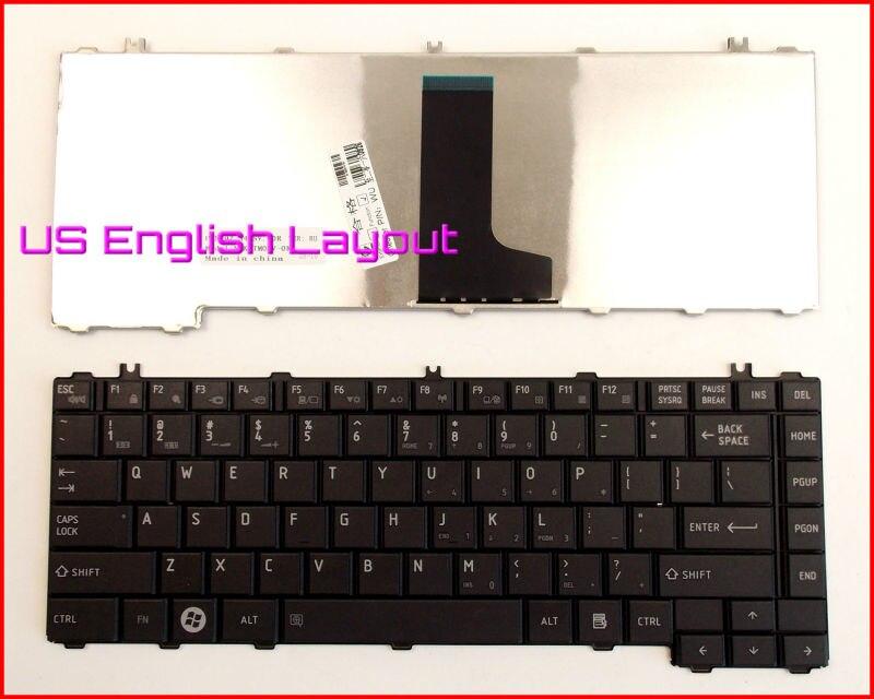 Novo teclado eua versão em inglês para toshiba satellite L635-S3020BN l745 l745d L645D-S4040 L645D-S4025 L635-S3050 portátil