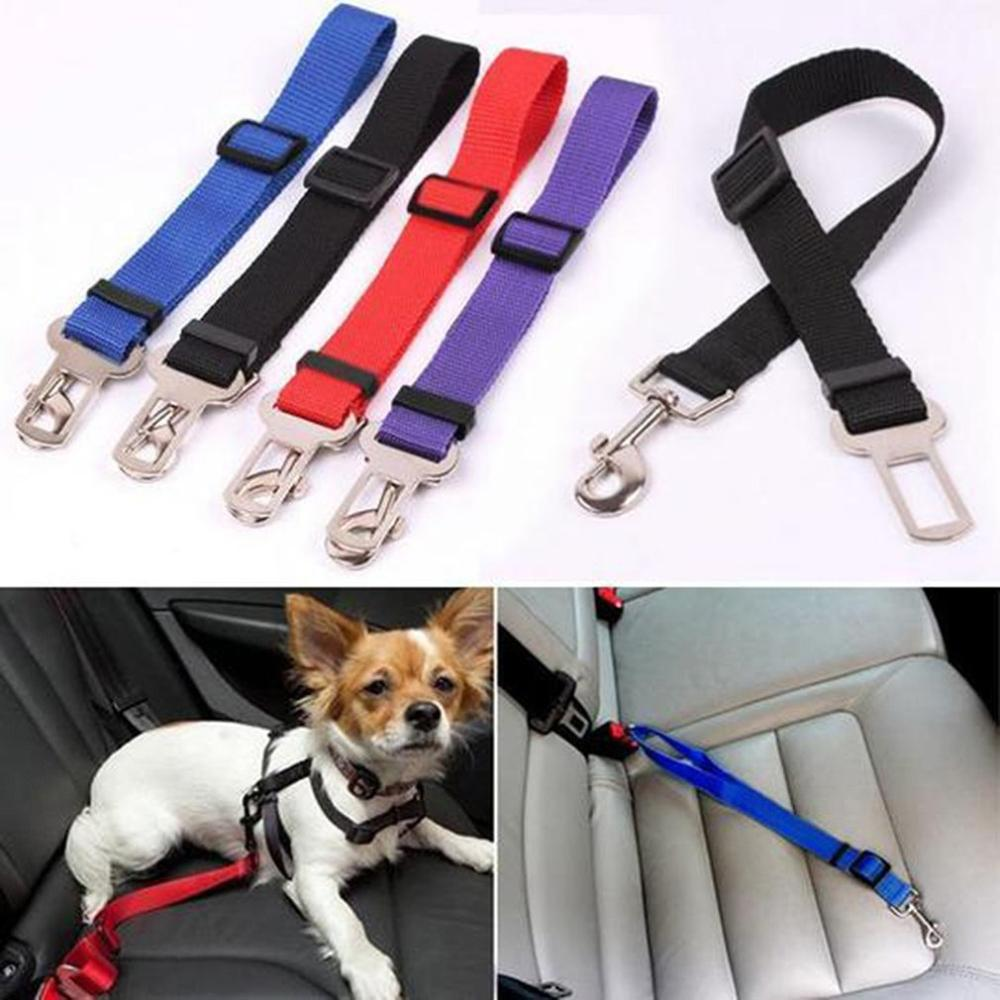 Wca-07 ajustable de la correa de perro mascota para cinturón de seguridad de coche camina muy Durable correas coche formación mediano grande y perros pequeños