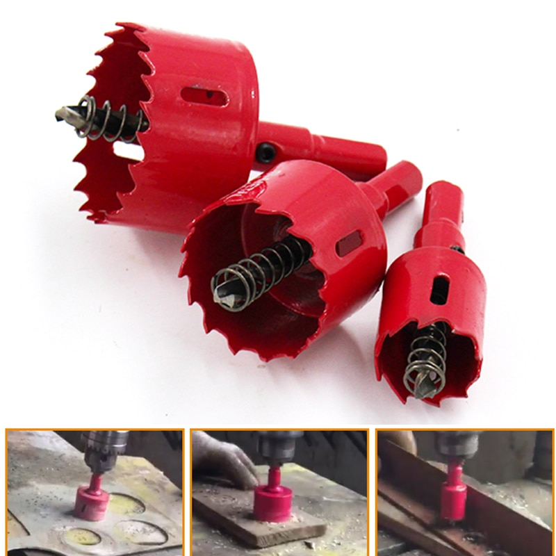 ZtDpLsd 1 stks 15-80mm M42 Boren Hole Saw Cutting Kit Opener Boor Cutter Gatzaag voor Aluminium ijzer Roestvrij Stalen Plaat